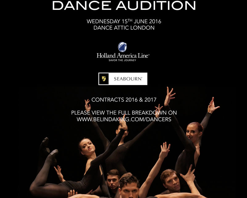 Audition Notice Belinda King Creative Productions