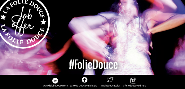 Audition Notice Le Folie Douce
