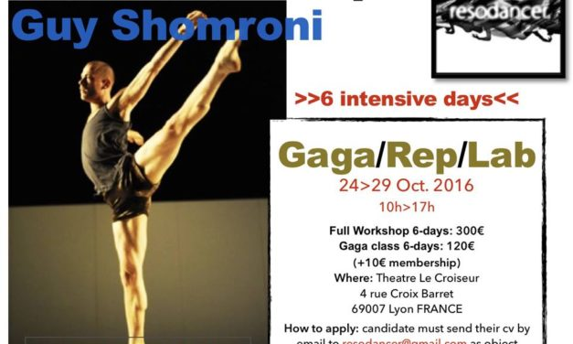 Reso-Workshop With Guy Shomroni