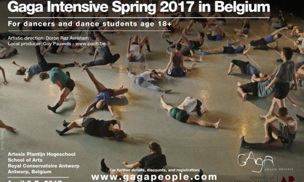 Gaga Intensive Spring 2017 In Belgium