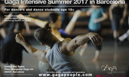 Gaga Intensive Summer 2017 in Barcelona