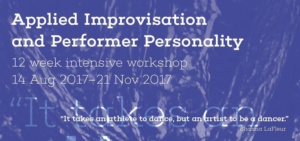 Applied Improvisation and Performer Personality