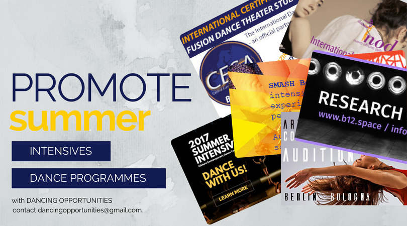 Summer Intensive Promo Packages