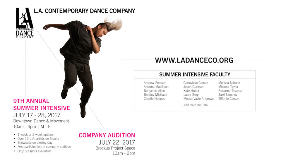 LA Contemporary Dance Company Summer Intensive