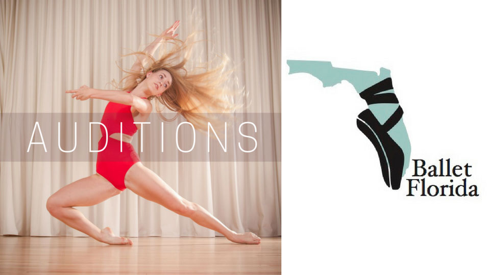 Audition Notice Ballet Florida