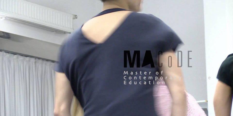 Master of Contemporary Dance Education MA CoDE