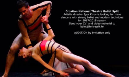 Audition Notice Ballet of the Croatian National Theater
