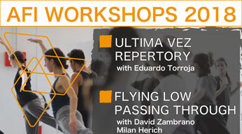 ULTIMA VEZ REPERTORY AND FLYING LOW AND PASSING THROUGH WITH ZAMBRANO