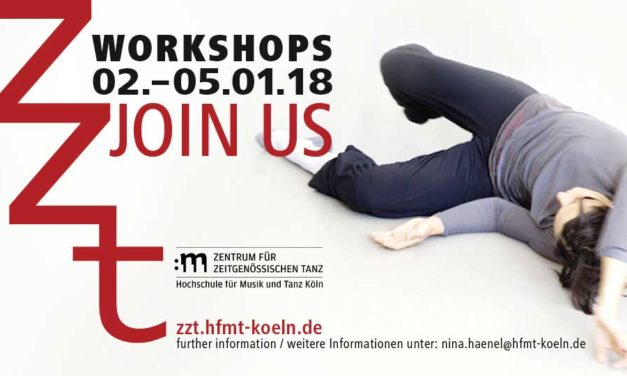 Centre for Contemporary Dance – University for Music and Dance Cologne Open Days