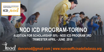 NOD Dance Programme Accepting Applications