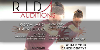Rome International Dance Academy Auditions