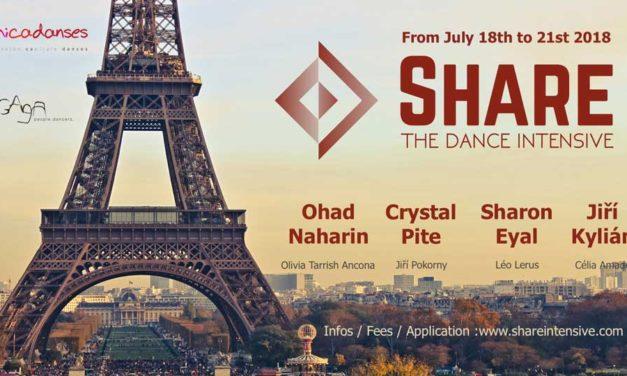 SHARE The Dance Intensive Paris