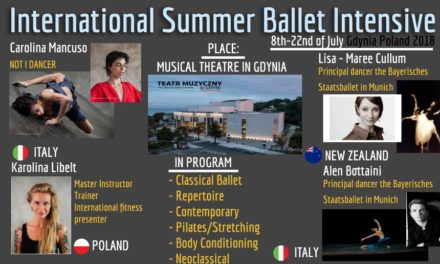 VI Ballet Summer School Intensive Gdynia, Poland 2018