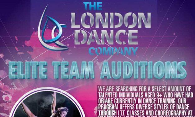 Elite Team Audition London