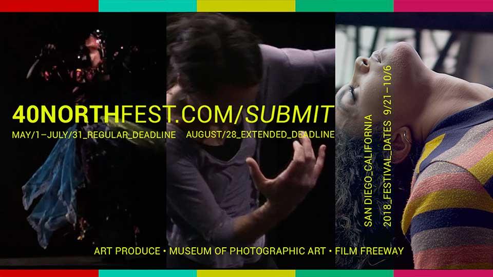 40 NORTH Dance Film Festival Call for Film Entries