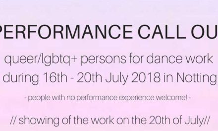 'itous' Community Dance Project Open Call