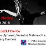 Audition Notice notetoSELF DanCe Company