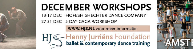 December Hofesh Shechter And Gaga Workshops In Amsterdam