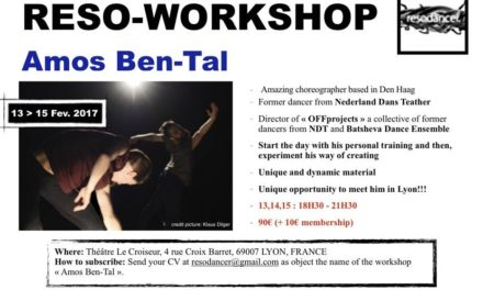 Reso-Workshop Amos ben-Tal