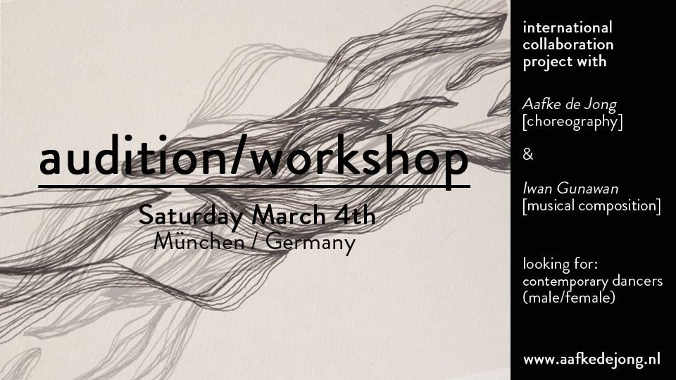 Audition Workshop For International Collaboration Project