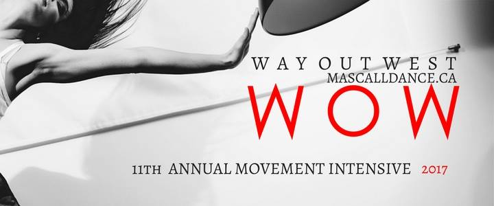 Way Out West Vancouver's Annual Summer Intensive for Professionals