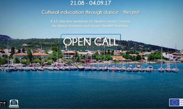 Cultural Education through Dance-Theatre A free Residency/Research Workshop