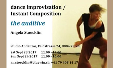 Angela Stoecklin Workshop Improvisation /Instant Composition