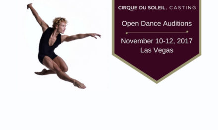 Audition Notice Cirque du Soleil