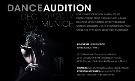 Audition Notice Carta Blanca Dance