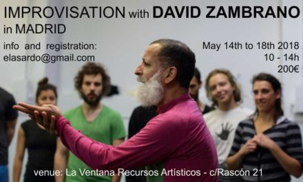 Improvisation On Stage Workshop With David Zambrano