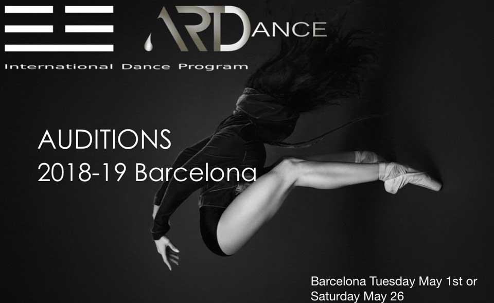 Auditions ARTDance IDP International Dance Program Barcelona