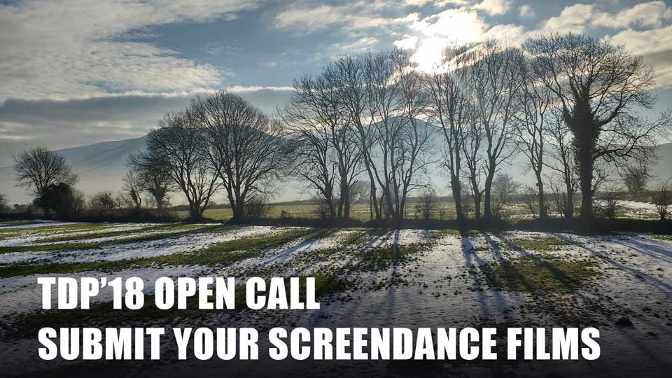 Open Call TDP'18 Screendance Selection