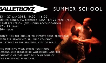BalletBoyz Summer School – Italy