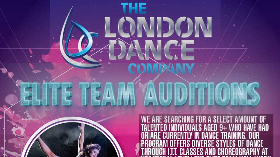 Elite Team Audition London