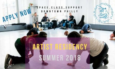 Urban Movement Arts Residency Open Call
