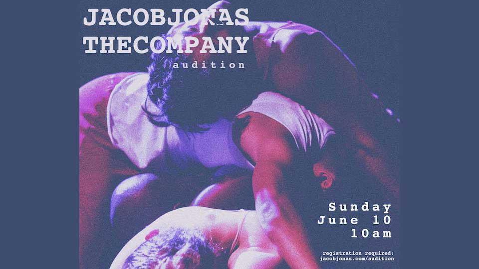Audition Notice Jacob Jonas The Company