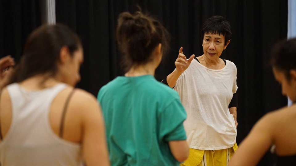 Fusioni Improv.Fest 2018 > workshop with Yoshiko Chuma