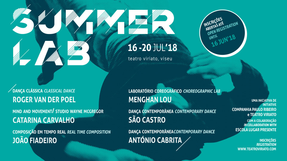 SUMMER LAB Intensive Dance Learning Programme at Teatro Viriato