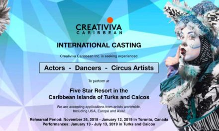 Creativiva Caribbean Inc Creativiva Caribbean Inc. Are Seeking Musical Theatre Actors, Dancers, Circus Artists