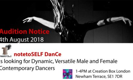 Audition Notice For Dynamic and Versatile Contemporary Dancers in London
