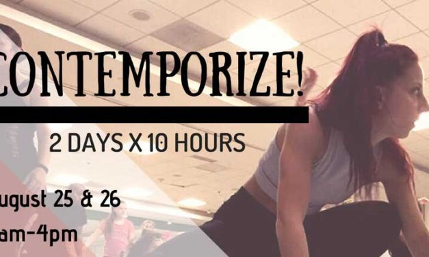 CONTEMPORIZE Dance Intensive