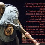Joseph Toonga Workshop Audition