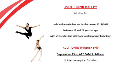 Audition Notice JSLN Junior Ballet