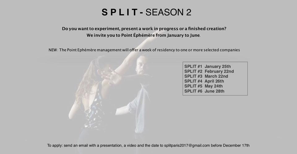 SPLIT Open Call
