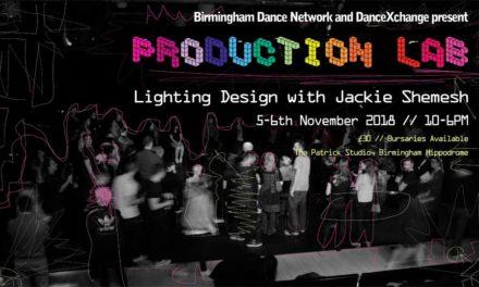 Production Lab Lightening Design