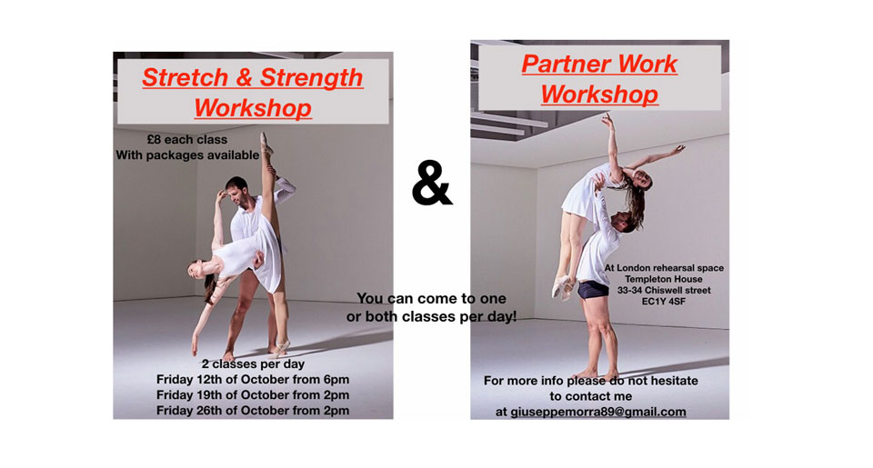Stretch And Strength And Partnerwork Workshops