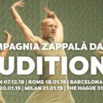 Audition Notice Compagnia Zappala Danza