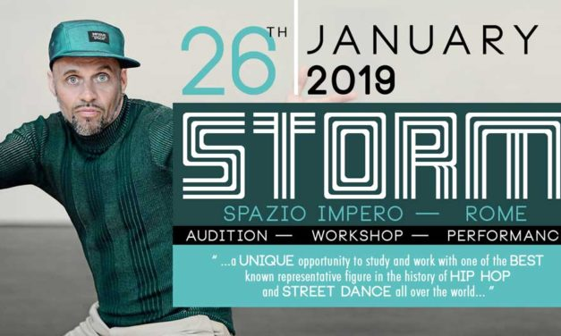 """Audition For Street Dancers – Workshop and Performance with """"STORM"""""""