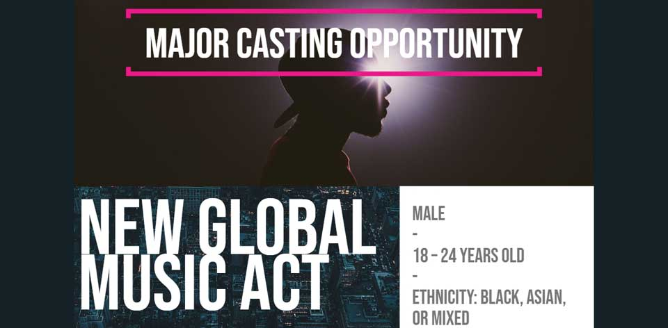 Audition Notice Ex A&R Director of Big Life Records