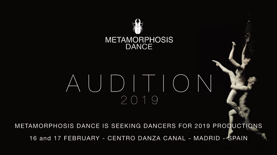 Audition Notice Metamorphosis Dance